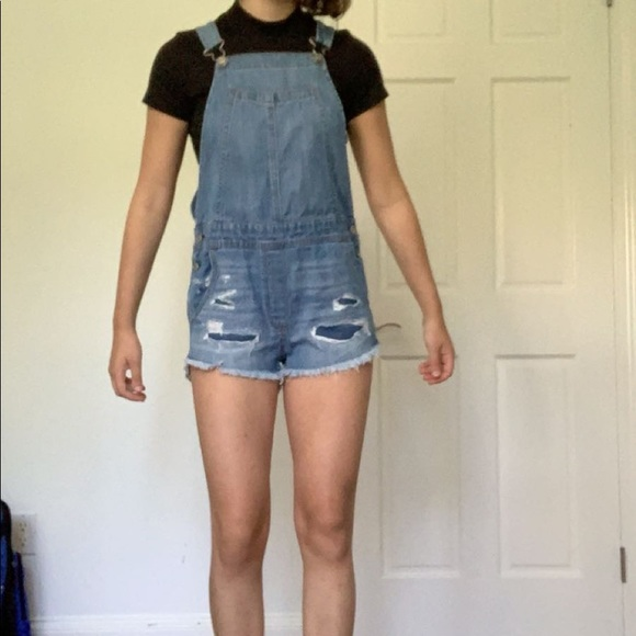 American Eagle Outfitters Denim - new american eagle overalls